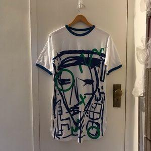 Vintage Art ringer t shirt